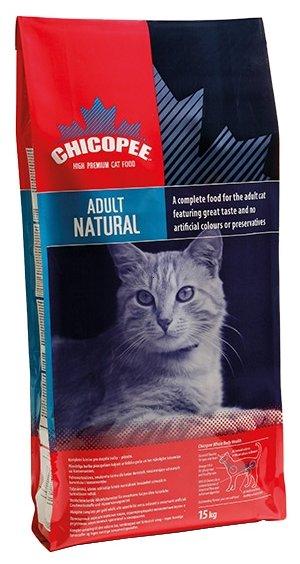 Chicopee корм для взрослых кошек всех пород, живущих в помещении, с птицей 15 кг