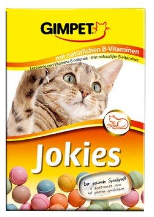 GIMCAT Витамины для кошек разноцветные шарики Джокис 520 г