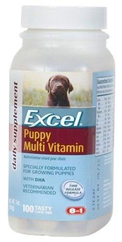 8 in 1 мультивитамины для щенков всех пород 100 таблеток
