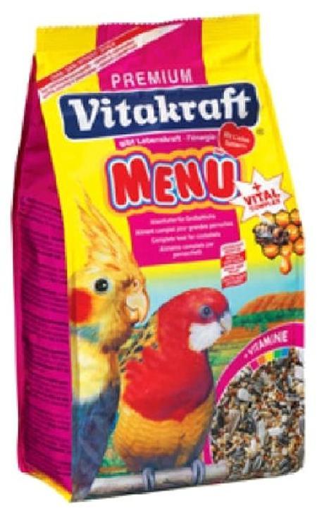 Vitakraft основной корм для средних попугаев 1 кг