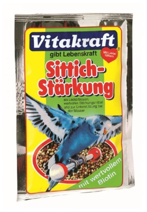 Vitakraft подкормка для волнистых попугаев, укрепление иммунитета 20 гр