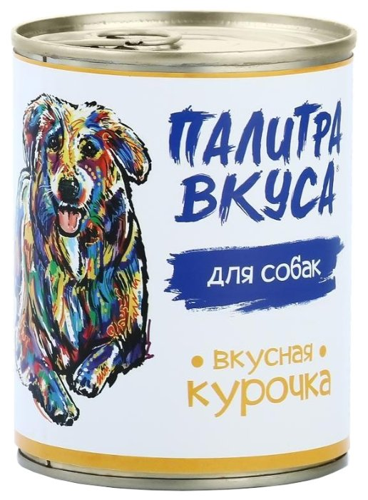 Палитра Вкуса влажный корм для стерилизованных собак всех пород, курица 340 гр