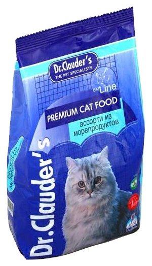 Dr.Clauders ВИА Для кошек - Ассорти из морепродуктов - Сухой корм, 0,400 кг