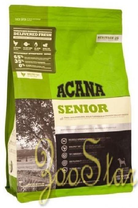 Acana Heritage корм для пожилых собак всех пород, беззерновой, цыпленок 2 кг