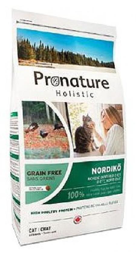 Pronature корм для взрослых кошек всех пород, с индейкой и чечевицей 2 кг