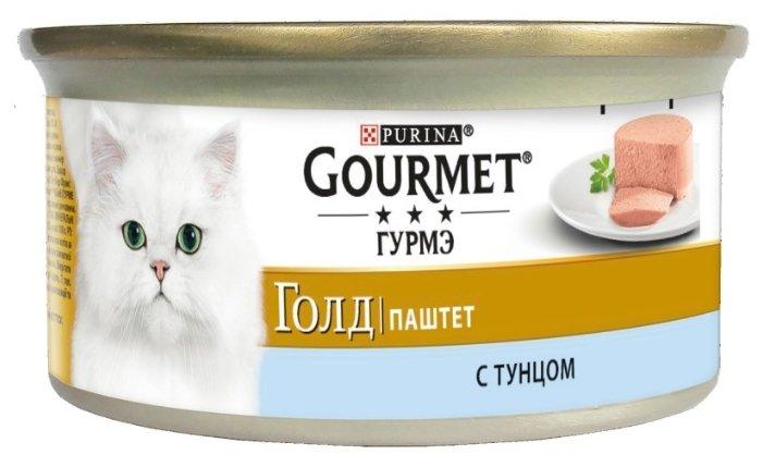 Gourmet Консервы Паштет Gourmet Gold с тунцом для кошек - 12032393/12318130/12307049/12439980, 0,085 кг