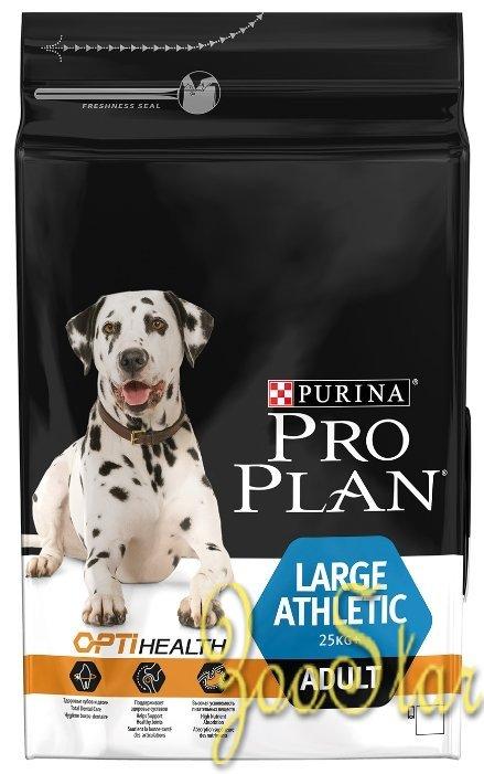 Purina Pro Plan ВИА Акция 12кг + 2кг в подарок Для собак крупных пород Атлетического телосложения с курицей (Adult  Large Breed Athletic Chicken) 12365630/12398182, 14,000 кг, 196170