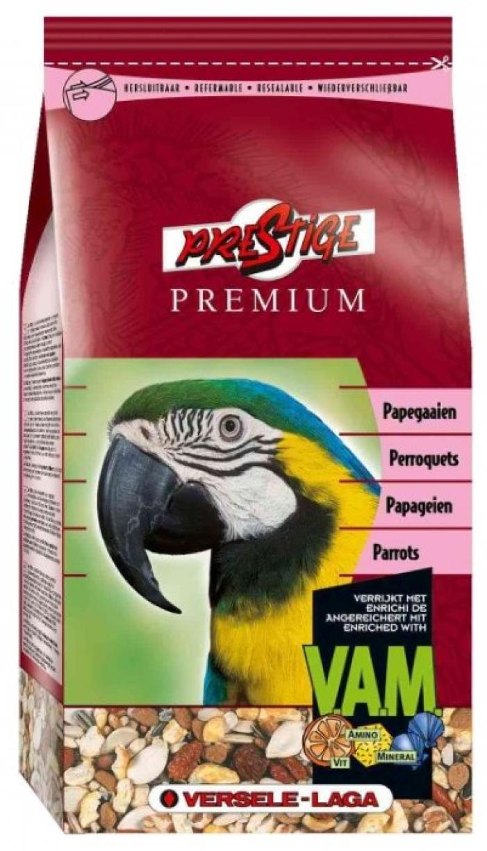 VERSELE-LAGA корм для крупных попугаев Prestige PREMIUM Parrots 15 кг, 422000