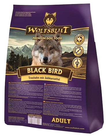 Wolfsblut Корм Black Bird Adult (Черная птица для взрослых собак) 2 кг, WBBB2