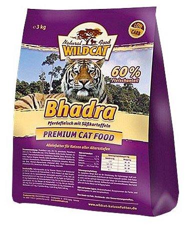 Wildcat Корм для кошек Bhadra (конина и сладкий картофель) 3 кг, WCB3