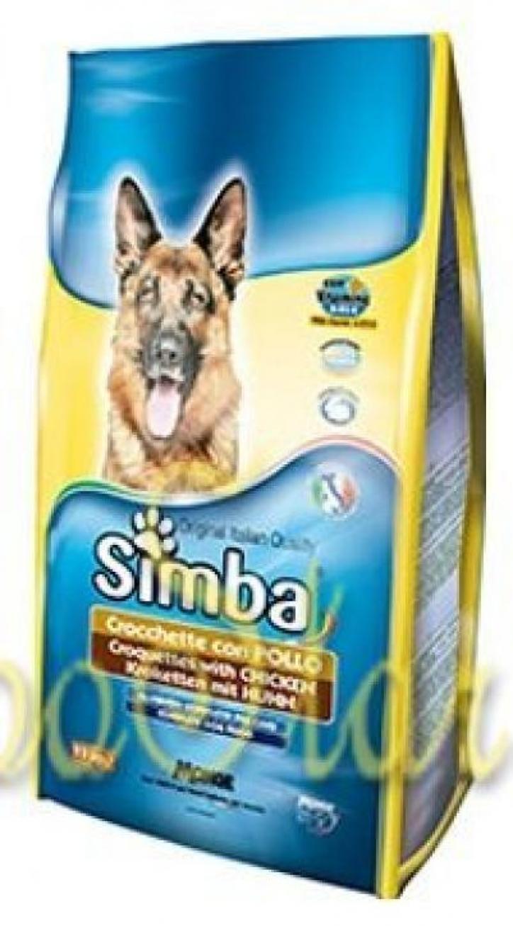 Simba Dog корм для собак с курицей 10 кг