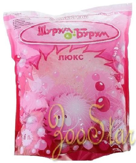 Шурум-Бурум Люкс наполнитель силикагелевый 7,6 л розовый, 1HAC00016