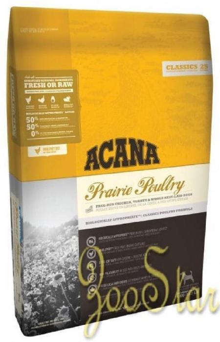 Acana Classics корм для взрослых собак всех пород, беззерновой, цыпленок 6 кг