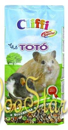 Cliffi (Италия) Комплексный корм для домашних хомяков, белок, мышей и песчанок (Toto Superior for Hamsters) PCRA026, 0,900 кг, 31297, 3100100479