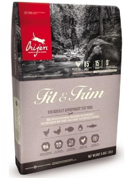 Orijen корм для взрослых кошек всех пород, курица, индейка и скумбрия 1,8 кг