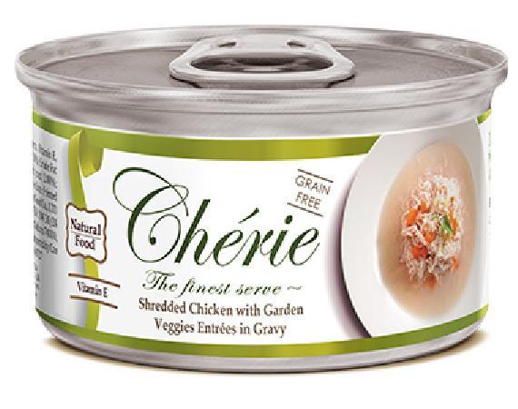 Pettric Консервы для кошек, курица с овощами в подливе 7489, 0,080 кг