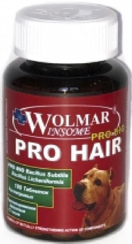 Wolmar Winsome Pro Bio Pro Hair комплекс для взрослых собак и щенков, для кожи и шерсти 180 таблеток, 2800100378