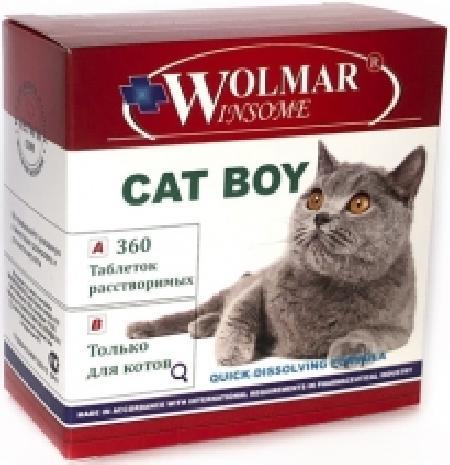 *Волмар Winsome 655 Cat Boy Мультивитаминный комплекс д/котов 360таб, 82728, 3200100378