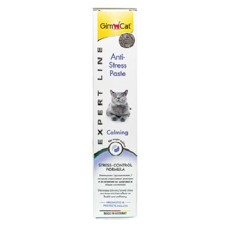 Gimcat Anti-Stress паста для кошек, для поддержания здоровья в период стресса 50 гр