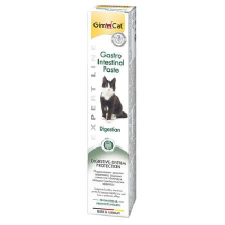 Gimcat Gastro Intestinal паста для кошек, для поддержания здорового пищеварения 50 гр