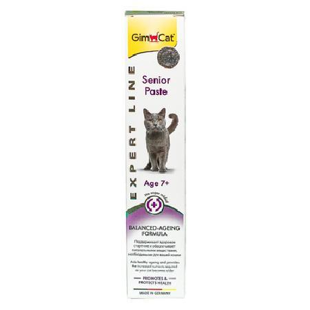 Gimcat Senior паста для пожилых кошек 50 гр