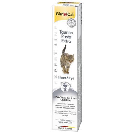 Gimcat Taurine Extra паста для кошек, для поддержания сердечно-сосудистой системы и зрения 50 гр