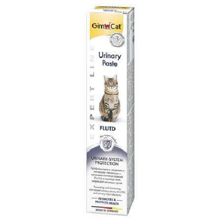 Gimcat Urinary паста для кошек, для профилактики заболеваний нижних мочевыводящих путей 50 гр