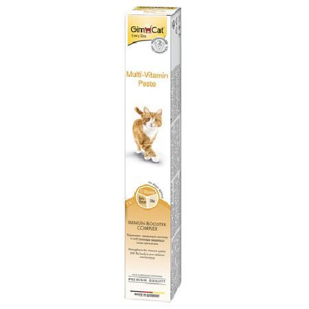 Gimcat Multi-Vitamin паста для кошек, для поддержания здоровья 100 гр