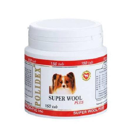 витамины длЯ собак Полидэкс 150 Супер Вул плюс