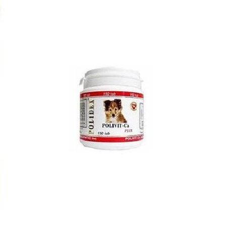 Polidex Polivit-CA витаминно-минеральный комплекс для собак, улучшение роста костной ткани 500 таб