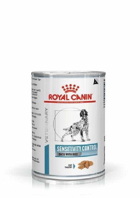 Royal Canin вет. паучи RC Консервы для собак при пищевой аллергии с острой непереносимостью (Sensitivity control duck with rice (Loaf) can) 40270042A0, 0,420 кг, 37760, 5200100394