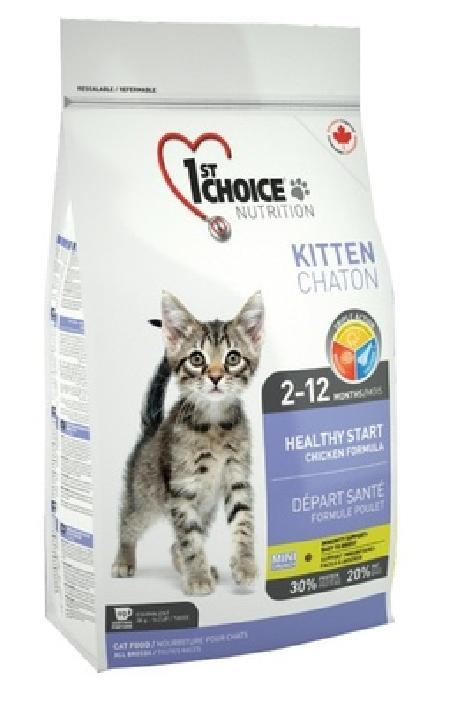1st Choice Сухой корм для котят с курицей Kitten, 2,720 кг