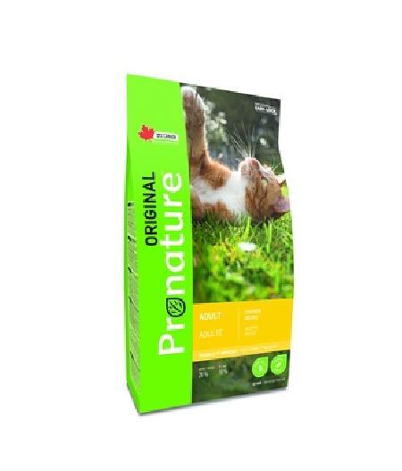 Pronature Для взрослых кошек,  курица , 2,270 кг
