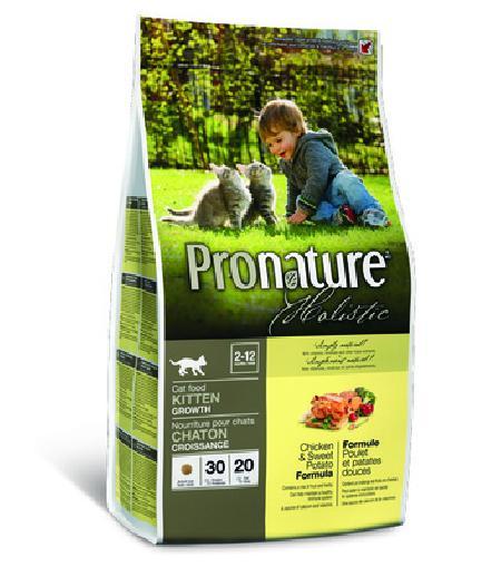 Pronature Holistic для Котят Курица со сладким картофелем 102.2040, 0,340 кг