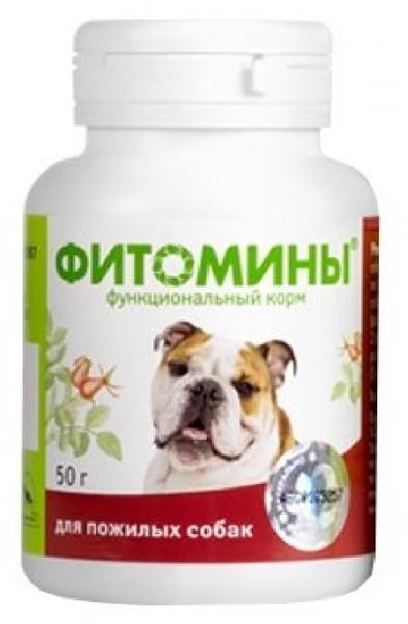 [1.656]  ФИТОМИНЫ 50г - функциональный корм дпожилых собак