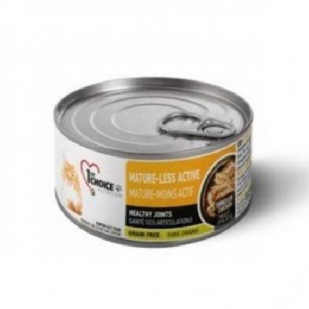 1st Choice влажный корм для пожилых кошек всех пород, курица и яблоки в масле тунца 85 гр