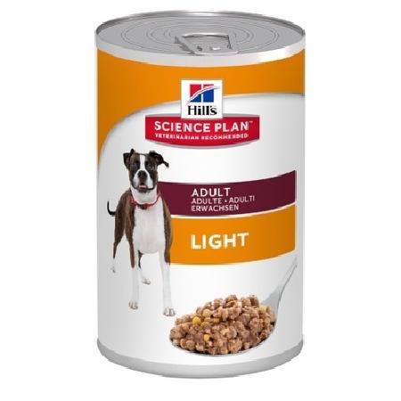 Hills консервы ВИА Для взрослых собак низкокалорийный (Adult Light) 8048U, 0,37 кг, 33830