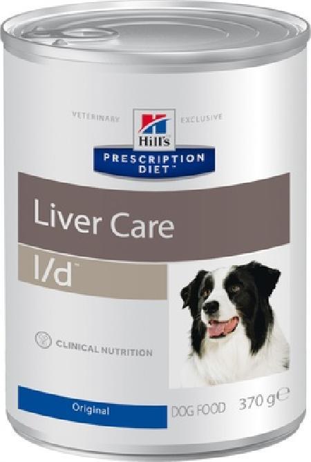 Hills l/d влажный корм для взрослых и пожилых собак всех пород, при заболеваниях печени 370 гр