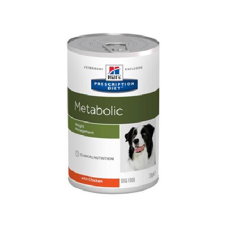 Hills Metabolic влажный корм для контроля избыточного веса у взрослых собак любых пород, с курицей 370 гр