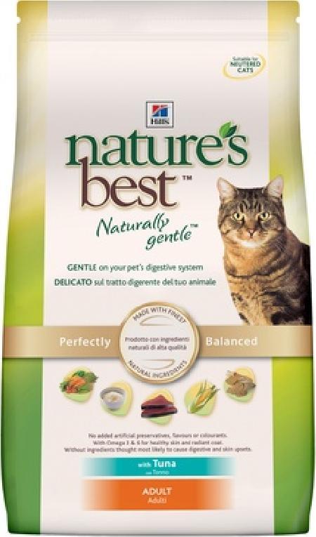 Hills Natures Best корм для взрослых кошек всех пород, тунец 2 кг