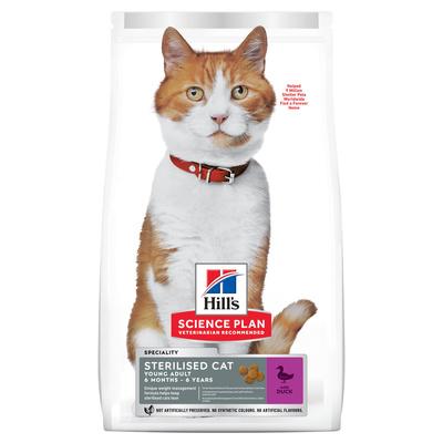 Хиллс 605253 сух.длЯ собак терилизованных кошек до 7 лет Утка 3кг