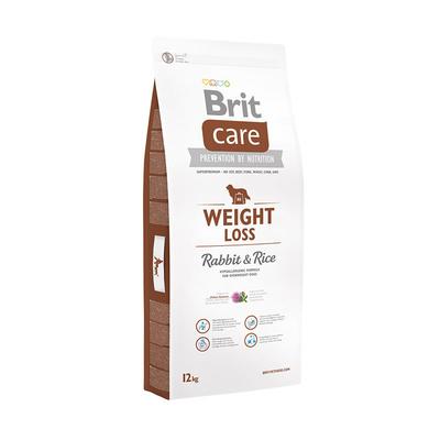 Brit Care корм для взрослых собак малых и средних пород с избыточным весом, кролик и рис 3 кг