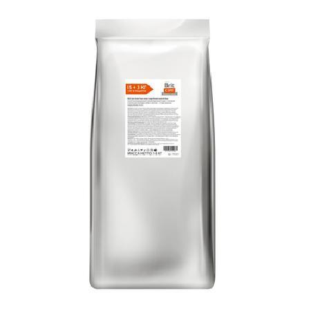 Brit Акция 15+3кг в подарок Сухой корм Care для щенков крупных пород от 25кг с ягненком и рисом (Junior Large Breed Lamb&Rice) 170124-1, 18 кг, 197130