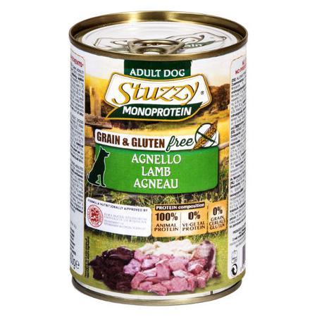 Stuzzy Monoprotein влажный корм для взрослых собак всех пород, ягненок 400 гр