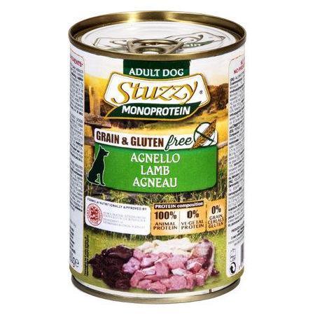 Stuzzy Monoprotein влажный корм для взрослых собак всех пород, оленина 400 гр