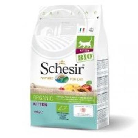 Schesir Bio корм для котят всех пород, домашняя птица 400 гр