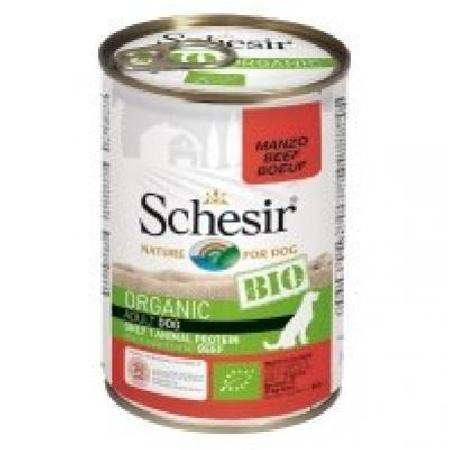 Schesir Bio влажный корм для взрослых собак всех пород, говядина 400 гр