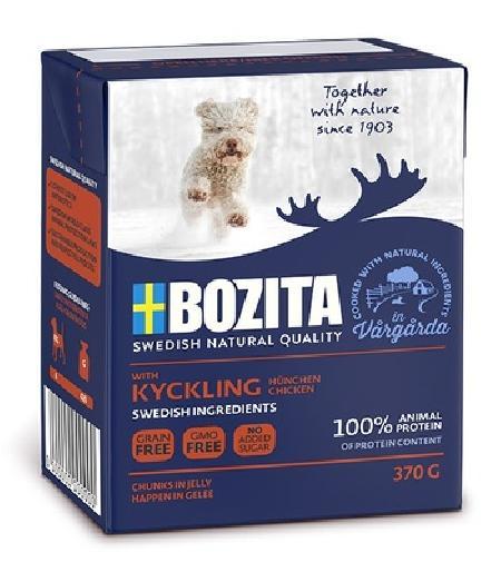 Bozita Кусочки в желе для щенков и юниоров с курицей, 0,370 кг