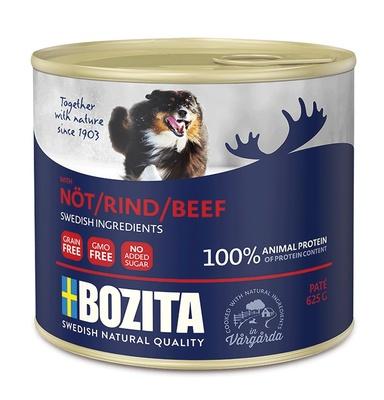 Bozita Мясной паштет для собак c говядиной, 0,625 кг