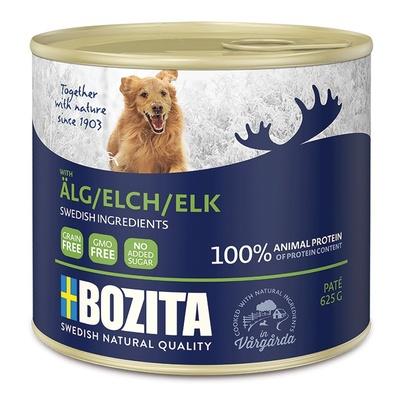 Bozita Мясной паштет  для собак с лосем, 0,625 кг